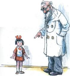 девочка, доктор