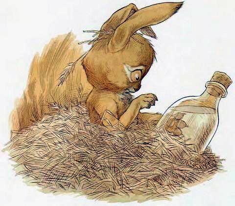 Кролик и бутылек