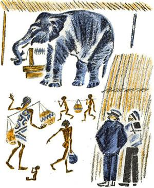 Житков Про слона