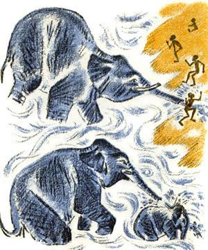 Про слона Житков