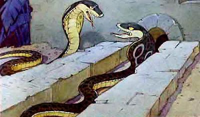 Змеи Наг и Нагайна кобры