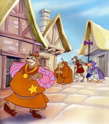 Сказка Робин Гуд, Сказки студии Дисней