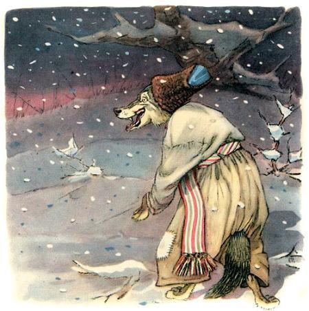 Сказка Рукавичка, Украинские
