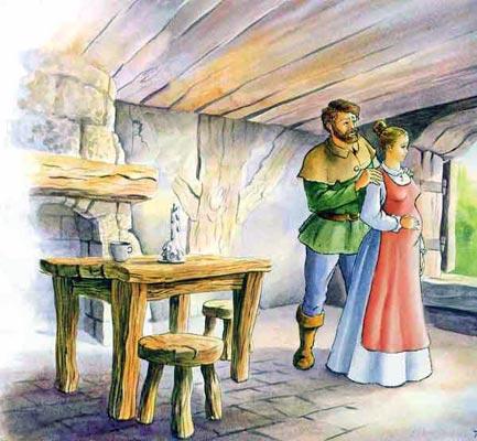 Сказка Салаточка, Братья Гримм