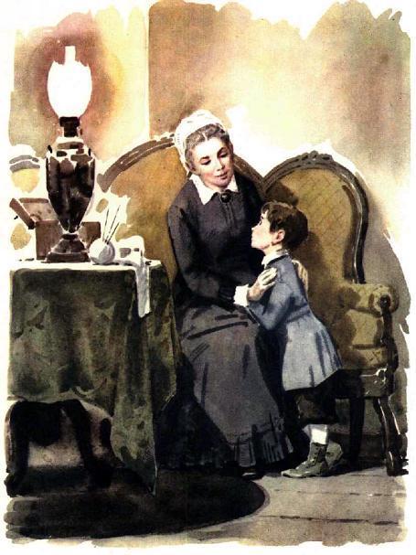 Ульяновы мама и сын