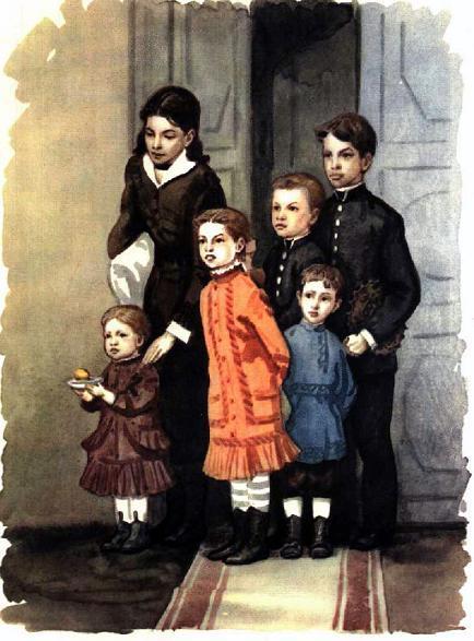 Ульяновы дети