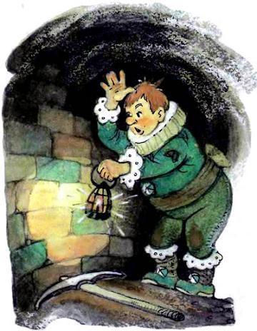 Руф Билан наткнулся в подземелье на стену кирпичная кладка
