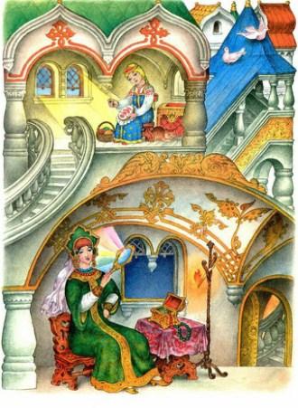 Сказка о мёртвой царевне и семи богатырях | Изображение - 2