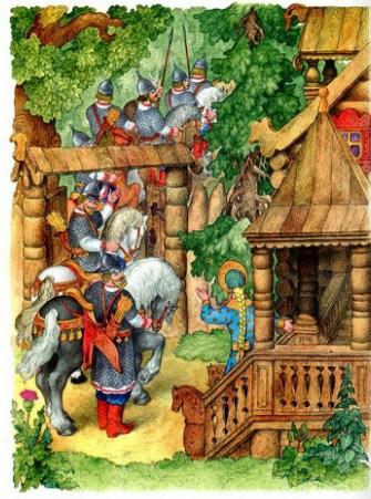 Сказка о мёртвой царевне и семи богатырях | Изображение - 7