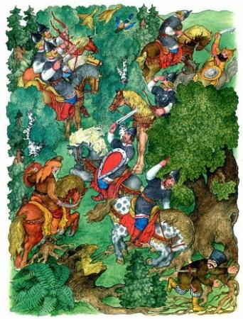 Сказка о мёртвой царевне и семи богатырях | Изображение - 8