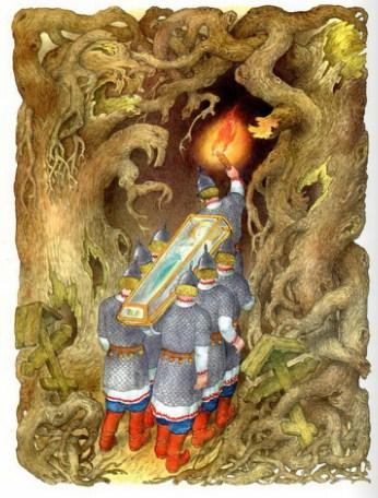 Сказка о мёртвой царевне и семи богатырях   Изображение - 12