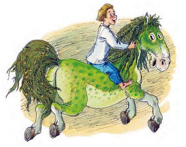 Зелёная Лошадь