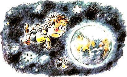 мальчик в космосе