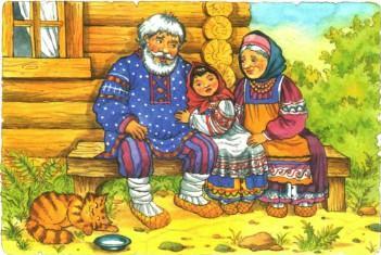 Сказка Смоляной бычок, Русская народная сказка