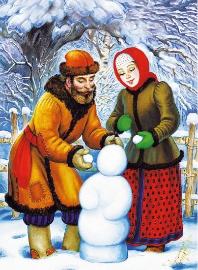 Сказка Снегурочка, Русская народная сказка