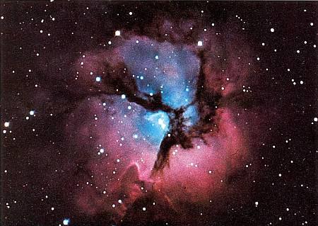 В таких газо-пылевых облаках возникают звезды и системы планет.