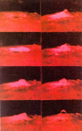 Вспышка, сфотографированная с помощью так называемого Н-фильтра. Он пропускает только красный свет водорода, в котором хромосфера светит особенно ярко.