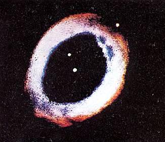 Туманность в созвездии Лира