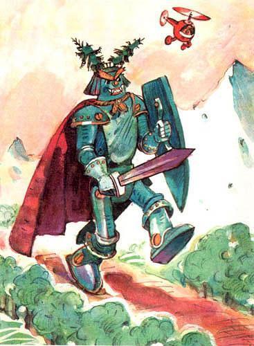 Тилли-Вилли Железный Рыцарь готов к бою