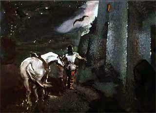 Королевич попросил Совушка, сова, загляни в дворцовое окошко