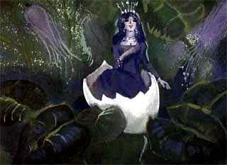 яичная скорлупка в скорлупке фея