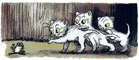 Три котёнка - Сутеев В.Г.