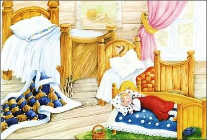 Сказка Три медведя, Русская народная сказка