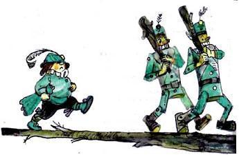 деревянные солдаты и наместник Кабр Гвин