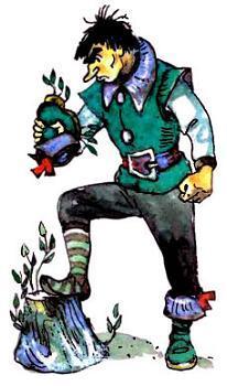 Урфин Джюс и волшебный порошок
