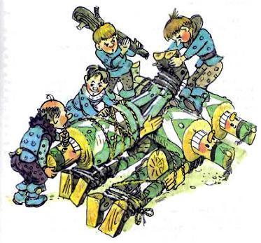 Обезоруженных и связанных дуболомов сложили поленницей во дворе Према Кокуса