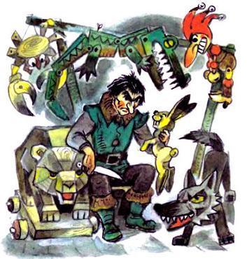 Урфин Джюс и его деревянные игрушки