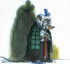 бабушка мышь