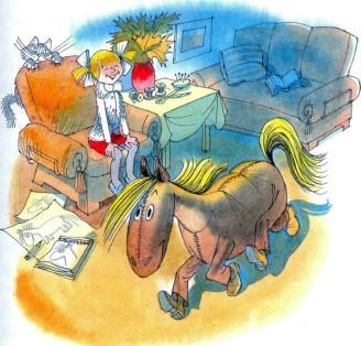 Лика и лошадь - костюм