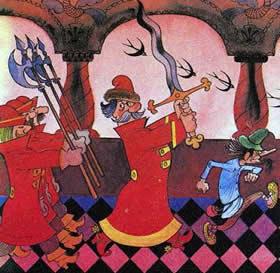 царские солдаты стрельцы
