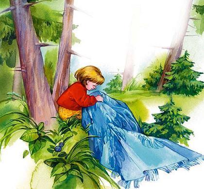 Сказка Волшебная иголочка, Осеева Валентина
