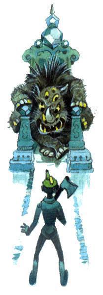 Гудвин явился Железному дровосеку восьмиглазым шестилапым чудовищем