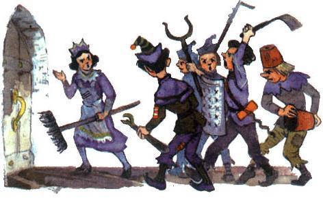 восставшие крестьяне
