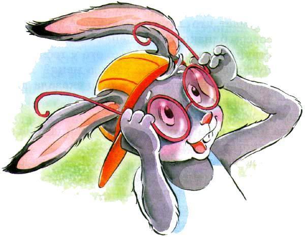 Заяц коська и его друзья картинки