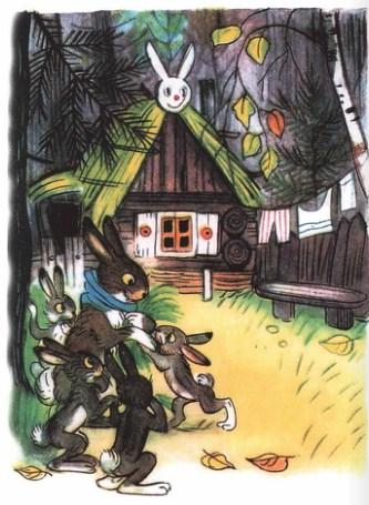 Зайка-траву поедайка и его семья | Изображение - 1