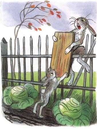 Зайка-траву поедайка и его семья | Изображение - 3