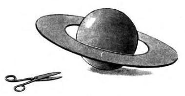 Сколько земных шаров можно было бы уложить по ширине кольца Сатурна.