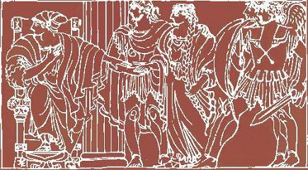 Аргонавты у царя Алкиноя