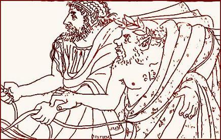 Как Пелий встретил Язона в Иолке