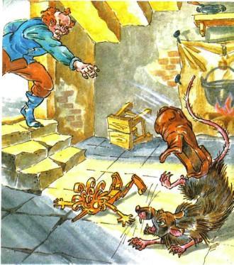 Сказка Золотой ключик или приключения Буратино, Толстой Алексей