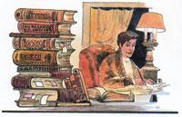 Писатель и книги